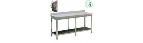 Table inox soudée 700